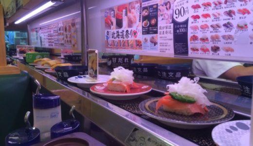 回転寿司は何皿食べるのが平均的?実際のカロリーからより健康的な食べ方を考察する富山県民。(笑)